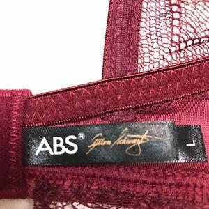 ABS Allen Schwartz Intimates & Sleepwear - ABS By Allen Schwartz Gatsy Velvet Bralette Large